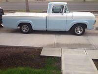 1959 Mercury m100  appraised at 32,500 asking 14,000 or trades!!