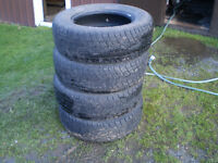 245/70/17 Trail Marker tires (4)