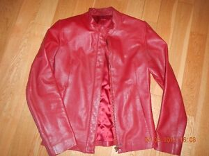 **RED LEATHER JACKET**