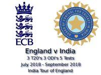 2x India v England Cricket international T20