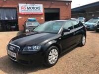 2006 Audi A3 1.6 Special Edition Sportback Black, 5dr Hatch, **ANY PX WELCOME**