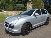 PORSCHE CAYENNE TWIN TURBO TECHART FULLY LOADED 4x4 TOTAL SPEC PX SWAP
