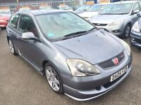 HONDA CIVIC 2.0 TYPE-R 6 SPEED 2005 / 1 OWNER / FULL SERVICE HISTORY / 12 MONTH MOT / HPI CLEAR