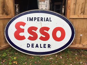 For Sale Large ESSO sign