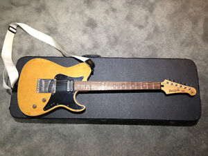 Yamaha Pacifica 311MS telecaster with hardshell case