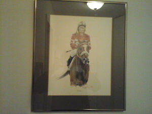 Numbered Horse Print