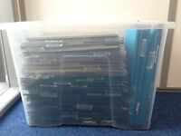 283 Lateral Hanging Suspension Files - A4 size