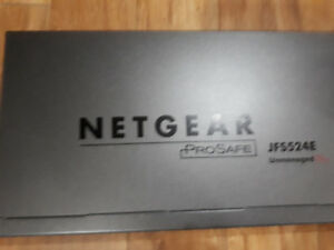 Netgear ProSAFE 10/100 24-port SMART