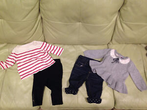 Two Baby Gap Outfits - 6-12M