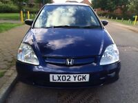Honda Civic 1.4 Petrol mot till April 2017