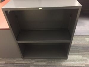 used bookcases(2) and small area rug
