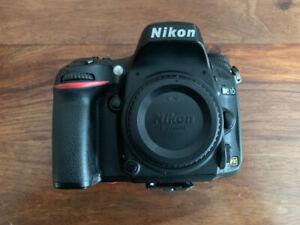 Boitier Nikon D610 (Full Frame) et accessoires.