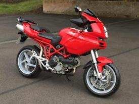 2004 54 Ducati Multistrada 1000 DS Sports Tourer Motorcycle