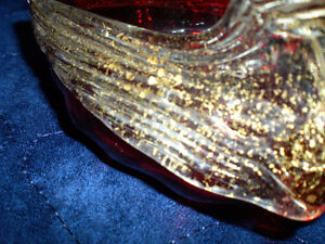 RUSSIAN GLASS AND 24 KT GOLD SWAN PIECE Kitchener / Waterloo Kitchener Area image 3