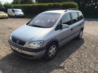 Vauxhall Zafira 1.6i 16v Comfort *7 seats, 1 years MOT*