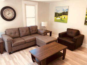 DELUXE FURNISHED 1 & 2 BEDROOM APARTMENTS DOWNTOWN MAY 1ST