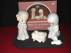 Precious Moments Christmas Nativity Set London Ontario image 1