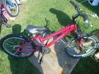 vélo NORCO fille 20 pouces