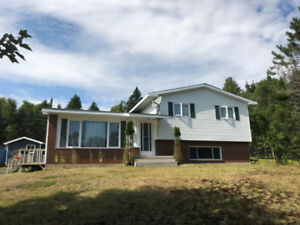 Move In Ready 4 Bedroom Home- 1 Acre Near St George NB