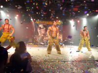 Magic Mike style male performer for private functions
