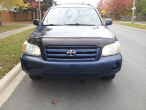 2004 Toyota Highlander AWD SUV, Crossover,Lic And Inspected.