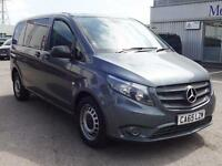 2015 Mercedes-Benz Vito 114 BLUETEC COMPACT CREW VAN Diesel grey Manual