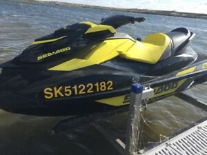 Sea Doo Package - Two Sea Doos with Trailer and Lifts