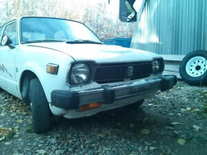 Price Reduced - 1978 Civic D-Series Swap Project
