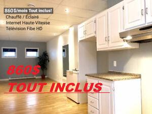 Appartement à louer 650$/mois