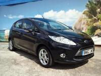 2012 FORD FIESTA ZETEC TDCI 5 DOOR £20 A YEAR TAX HATCHBACK DIESEL
