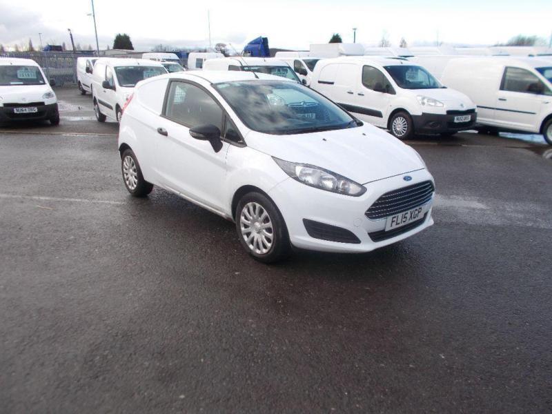 Ford Fiesta 1.5 Tdci Van DIESEL MANUAL WHITE (2015)