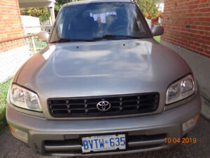 2000 TOYOTA RAV4 VERY GOOD RUNNING CONDITION UP FOR SALE
