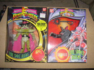 MIGHTY MORPHIN POWER RANGERS EVIL SPACE ALIENS BNIB