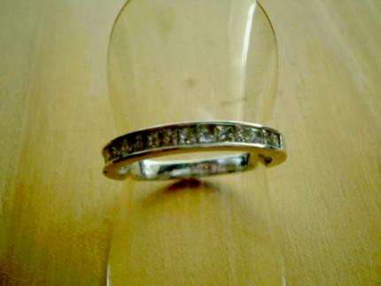 DIAMOND RING - .80CT CHANNEL SET PRINCESS CUT - TAKE ADVANTAGE