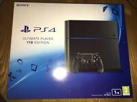 Ps4 1TB brand new sealed full warranty possible extras Mafia 3, FIFA 17, Doom