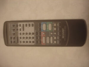 SHARP 221 TV VCR REMOTE G0692GE VC6610, VC6610U, VC6630, VC6630U
