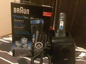 Brown shaver with cooling technology