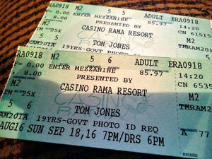 ***Tom Jones sold out show at Rama***