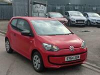 2014 Volkswagen UP 1.0 Take Up,£20 Road Tax, MOT 11/05/2022. HATCHBACK Petrol Ma
