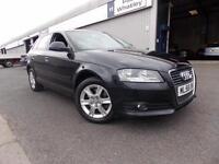 Audi A3 2.0 TFSI SE 5 Door Petrol 77k FSH Metallic Black