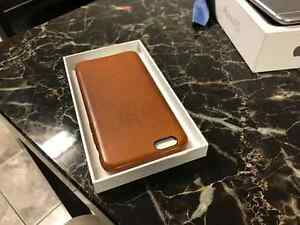 iPhone 6s - 64GB - Space Grey w/ Apple Leather Case Kitchener / Waterloo Kitchener Area image 3