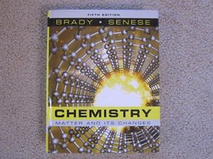 Chemistry Matter and Its Changes - Fifth Edition - just like new