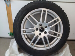 225/50/R17 - Low profile tires with Alloy Rims (x4)