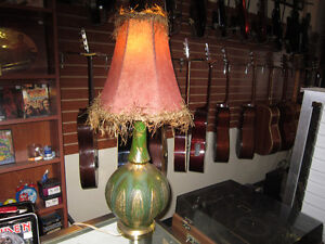 Table Lamp With Shade For Sale