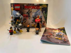 LEGO THE NINJAGO MOVIE, Piranha Attack 70629.