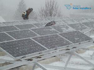 How much do solar panels cost? Kitchener / Waterloo Kitchener Area image 1