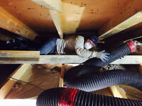 ATTIC INSULATION INSTALLS & VACUUM REMOVALS