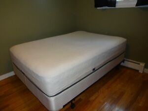 Double Mattress, Box Spring and Frame