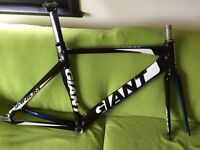Giant omnium track bike frame 2012 medium