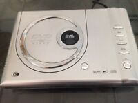 Silver DVD CD Video Player with Remote Control Good Condition